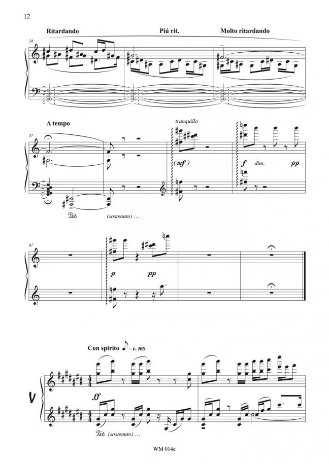 Watercolours (for piano) – p12 – By Matthew Orlovich.