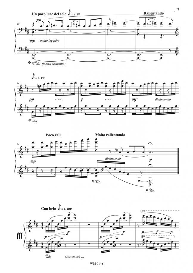 Watercolours (for piano) – p7 – By Matthew Orlovich.